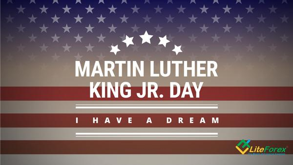 Martin Luther King trading holiday